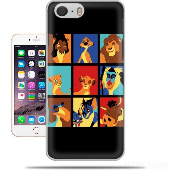 Case Lion pop for Iphone 6 4.7