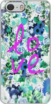 Love Floral Green Case for Iphone 6 4.7