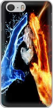Love duet Ice and Flame Case for Iphone 6 4.7