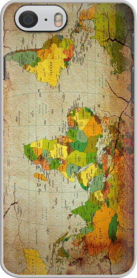 Case World Map for Iphone 6 4.7