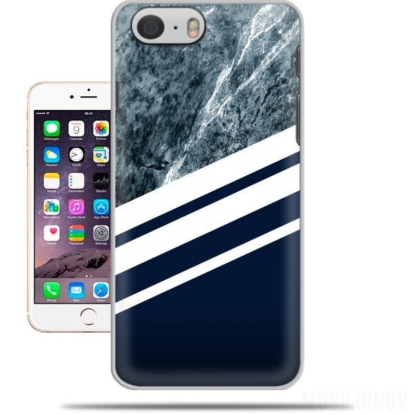 Case Marble Navy for Iphone 6 4.7