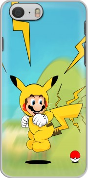 Mario mashup Pikachu Impact-hoo! Case for Iphone 6 4.7