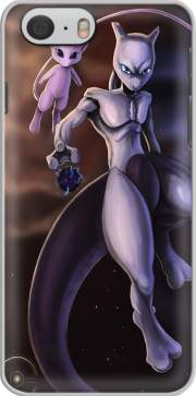 Mew And Mewtwo Fanart Iphone 6 4.7 Case