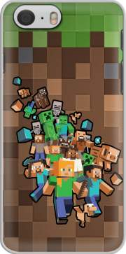 Minecraft Creeper Forest Iphone 6 4.7 Case