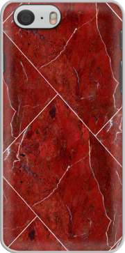 Minimal Marble Red Case for Iphone 6 4.7