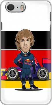 MiniRacers: Sebastian Vettel - Red Bull Racing Team Case for Iphone 6 4.7