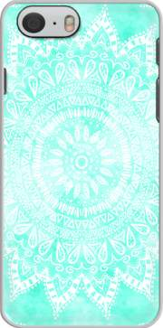 Mint Bohemian Flower Mandala Case for Iphone 6 4.7