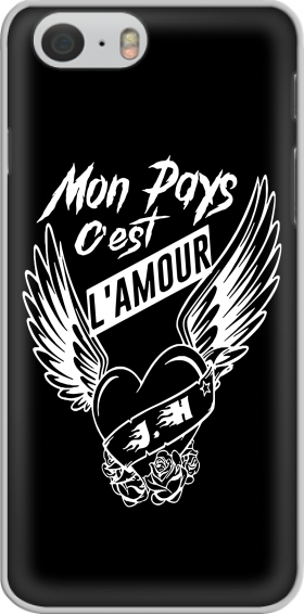 Case Mon pays cest lamour for Iphone 6 4.7