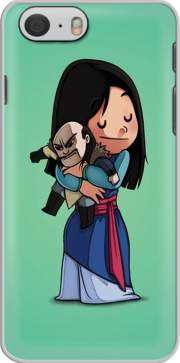 Mulan give hugs to vilain Case for Iphone 6 4.7