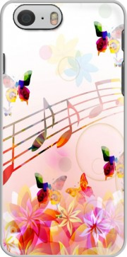 Musical Notes Butterflies Case for Iphone 6 4.7