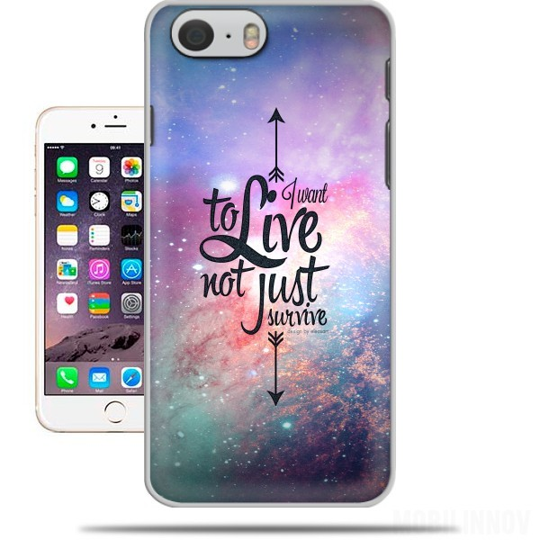 Case Not just survive for Iphone 6 4.7