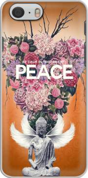 Peace Statue Flower Case for Iphone 6 4.7