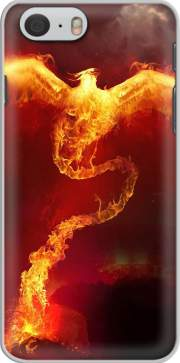 Phoenix in Fire Iphone 6 4.7 Case