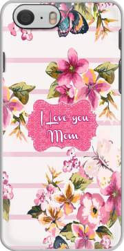 Pink floral Marinière - Love You Mom Case for Iphone 6 4.7