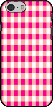Pink Square Vichy Case for Iphone 6 4.7