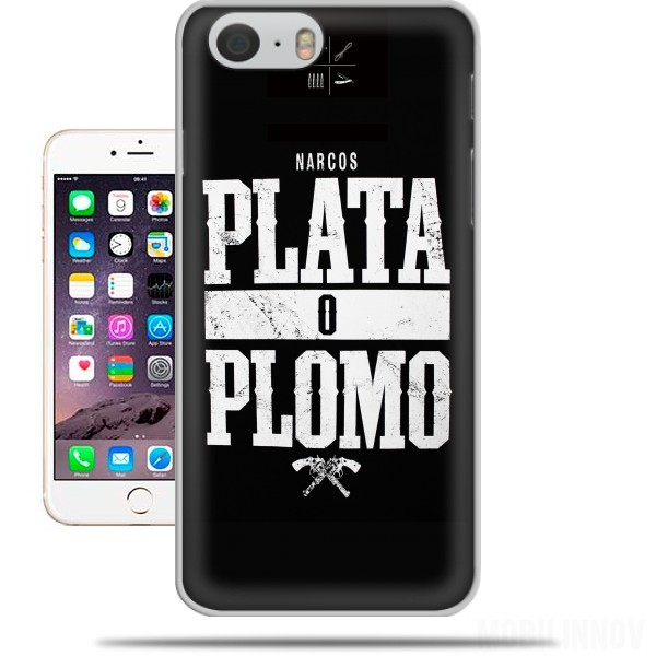 Case Plata O Plomo Narcos Pablo Escobar for Iphone 6 4.7