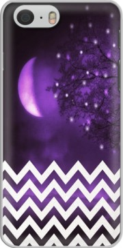 Purple moon chevron Case for Iphone 6 4.7