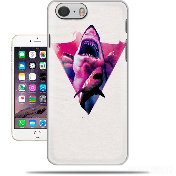 Case Purple Sharks for Iphone 6 4.7