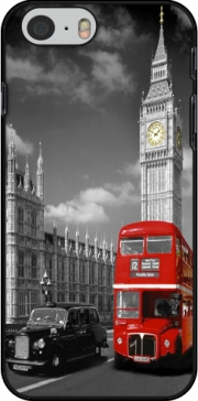 Red bus of London with Big Ben Case for Iphone 6 4.7
