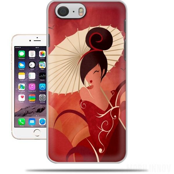 Case Sakura Asian Geisha for Iphone 6 4.7