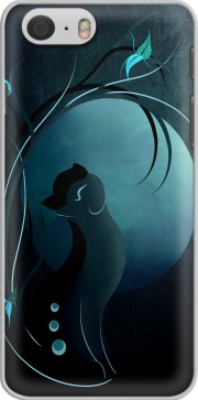 Sensual Cat in the Moonlight  Case for Iphone 6 4.7