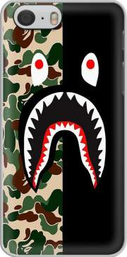 Shark Bape Camo Military Bicolor Case for Iphone 6 4.7