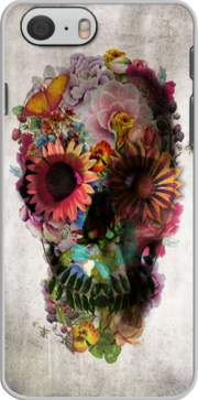 Skull Flowers Gardening Case for Iphone 6 4.7