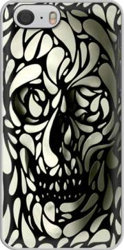 Skull Zebra White And Black Case for Iphone 6 4.7