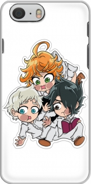 The Promised Neverland Emma Ray Norman Chibi Iphone 6 4.7 Case