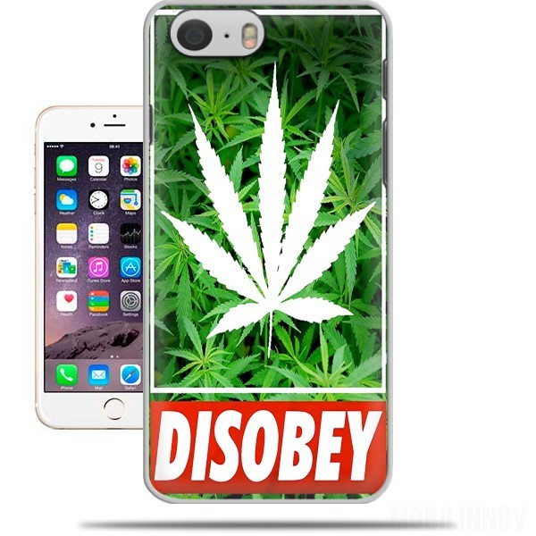 Case Weed Cannabis Disobey for Iphone 6 4.7