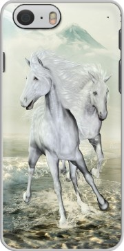 White Horses on the beach Case for Iphone 6 4.7