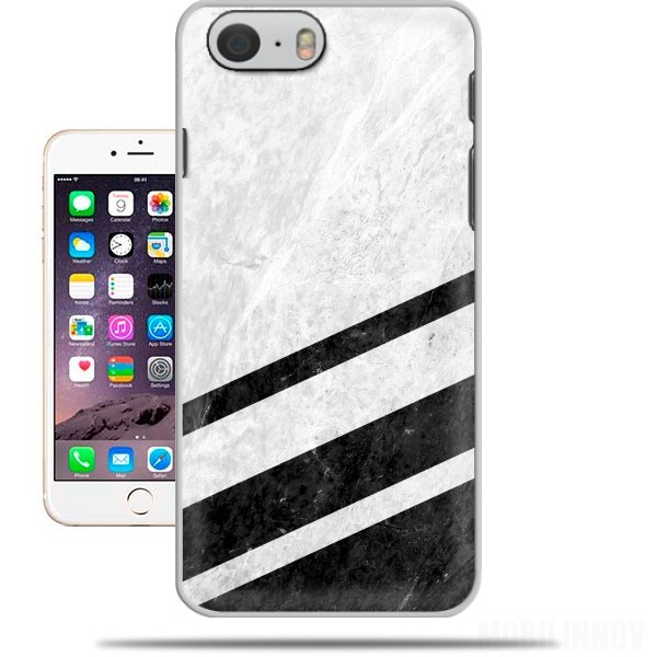 Case White Striped Marble for Iphone 6 4.7