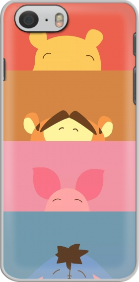 Case Winnie the pooh team for Iphone 6 4.7