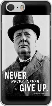 Winston Churcill Never Give UP Iphone 6 4.7 Case