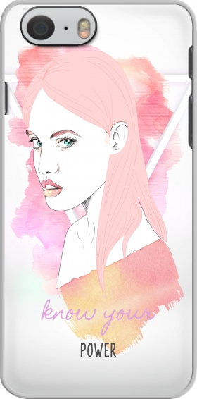 Case Woman Fight For power for Iphone 6 4.7