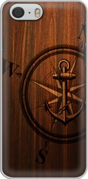 Wooden Anchor Case for Iphone 6 4.7