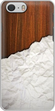 Wooden Crumbled Paper Case for Iphone 6 4.7