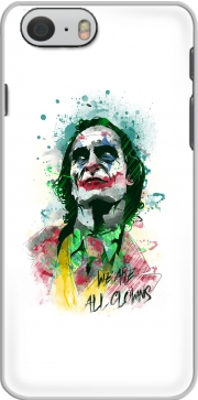Watercolor Joker Clown Case for Iphone 6s