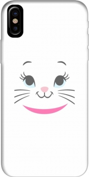 Aristochat Marie Face art Case for Iphone X / Iphone XS