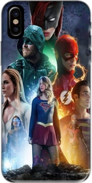 Arrowverse fanart poster Iphone X / Iphone XS Case