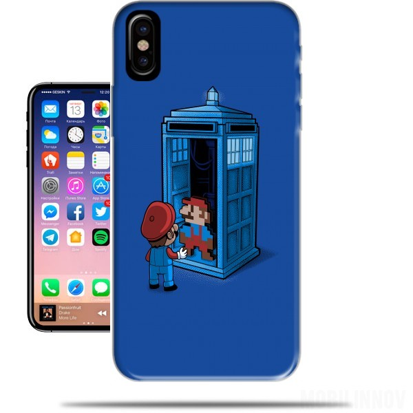 Case Back To 8 bits for Iphone X / Iphone XS