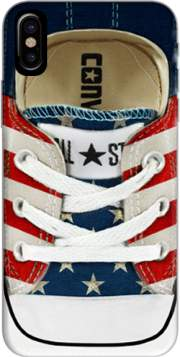 All Star Basket shoes USA Case for Iphone X / Iphone XS