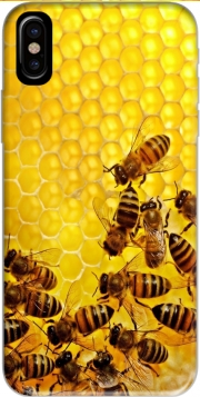 Bee in honey hive Iphone X / Iphone XS Case