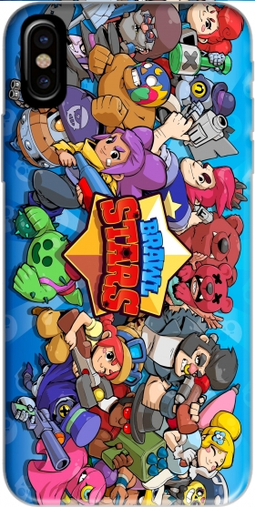 Case Brawl stars for Iphone X / Iphone XS