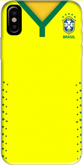 Case Brazil Selecao Home for Iphone X / Iphone XS