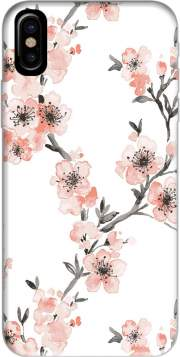 Cherry Blossom Aquarel Flower Iphone X / Iphone XS Case
