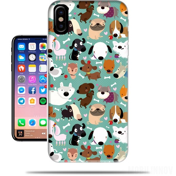Case Dogs for Iphone X / Iphone XS