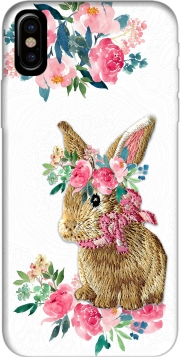 Flower Friends bunny Lace Iphone X / Iphone XS Case
