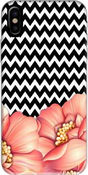 flower power and chevron Iphone X / Iphone XS Case