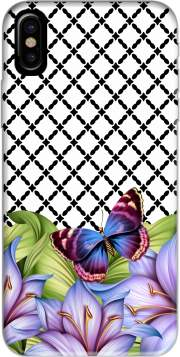 flower power Butterfly Iphone X / Iphone XS Case